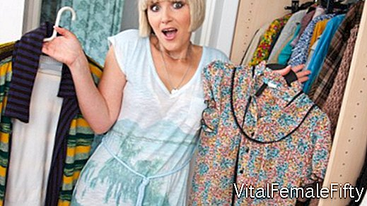 What unnecessary clothes from the closet you need to get rid of