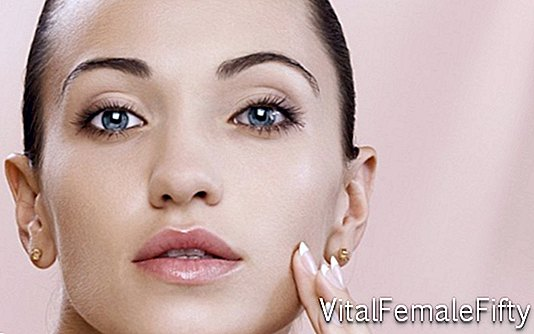 Makeup for dry skin