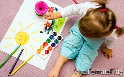 Decorating a children's room by feng shui