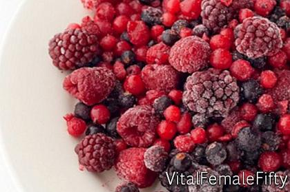 Freezing fruits for fruit salads and more