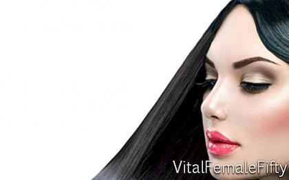Makeup for black hair color