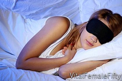 Sleeping mask and quality sleep